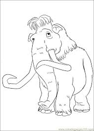 Small Picture Ice Age Continental Drift 12 Coloring Page Free Ice Age Coloring