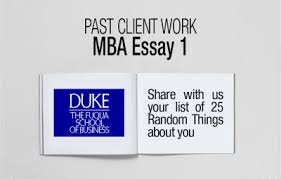 duke fuqua mba essay random things ⋆ fxmbaconsulting
