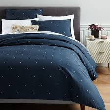 organic washed cotton duvet cover shams