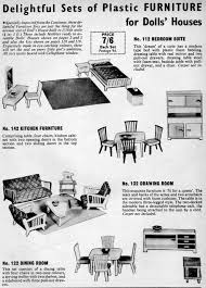Dolls House Kitchen Furniture Hobbies Of Dereham Dolls House Furniture And Fittings 1946 1968 By