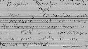 devils lake boy wins why i love my grandparents essay contest devils lake tv a boy who wanted to go to tae kwon do camp was told by his parents it was too expensive but 8 year old brayden gerhardt remembered
