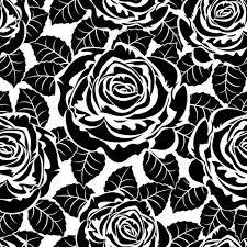 ちょっぴりハデな薔薇の背景素材8種類のillustratorスウォッチパターン