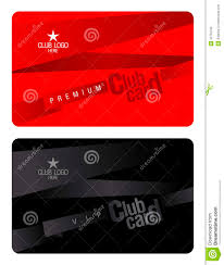 Club Card Design Club Card Design Template Stock Vector Illustration Of Access 2