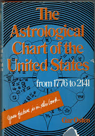 The Astrological Chart Of The United States From 1776 To