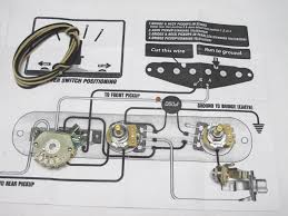 4 way telecaster switch wiring diagram wirdig way switching mod tele pots switch wiring kit for fender telecaster
