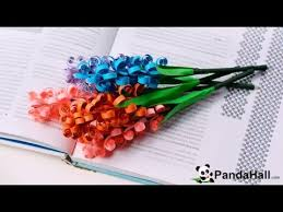 Paper Quilling Flower Bokeh How To Make A Quilling Paper Flower Bouquet For Mothers Day