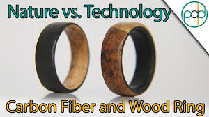 Technology Vs. Nature: Making a <b>Carbon Fiber</b> and <b>Wood</b> Ring ...