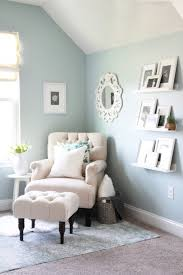white airy home office. a cozy office nook white airy home