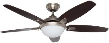 hunter contempo 52 in indoor brushed nickel ceiling fan with universal remote and light