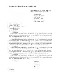 Cover Letter Formal Cover Letter Template Formal Cover Letter