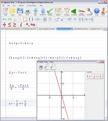 step 2 let algebra solver place the linear equation in standard form and graph it