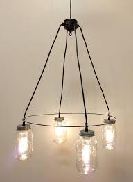 inspiring creative light fixtures with 64 most blue chip vintage mason jar chandelier light fixture lamp creative of