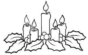 Small Picture Free Coloring Pages For Christmas Printable Candles Christmas