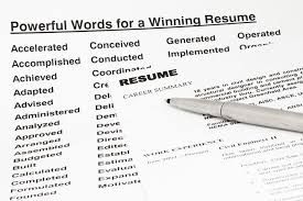 Resume Keywords And Phrases | Swarnimabharath.org