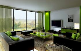 Perfect Black And Green Living Room View In Gallery A Mint Green