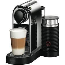 Nespresso U Machine Nespresso Bec650mc Nespresso Citiz And Milk Chrome At The Good Guys