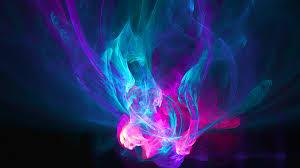 Blue Fire Wallpaper HD