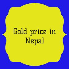 Fine gold price per 1 tola (9999). Gold Price In Nepal