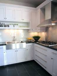 white kitchen cabinets with tan tile floor kitchen tile ideas with grey cabinets gray tan tile