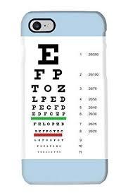 Snellen Eye Chart For Phone Amazon Com Snellen Pocket Eye Chart Cell Phone Case For