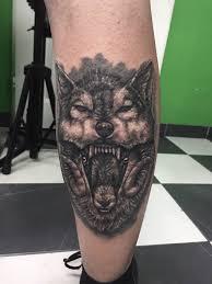Tetování Vlk A Kozoroh Tetování Tattoo