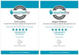 Thank you again to all our clients who have given us - Vouched for Reviews  - Investment Solutions
