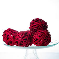Wicker Balls For Decoration Fascinating Red Wicker Balls 32 Decorative Balls Rustic Decor Ideas
