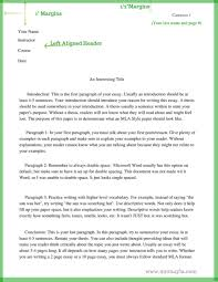 Fearsome Mla Format Example Essay Thatsnotus