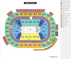 Canucks Virtual Seating Chart Rogers Arena Vancouver Seat Map With Numbers Wajihome Co