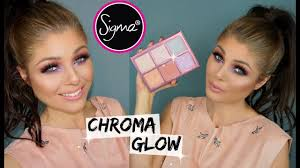 <b>Sigma Beauty Chroma Glow</b> Palette | Review, Swatches & Demo ...