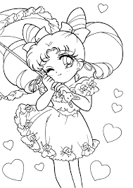 Small Picture Sailor Moon Coloring Pages olegandreevme