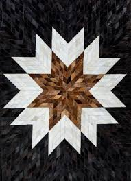 quick view insignia cowhide patchwork rug