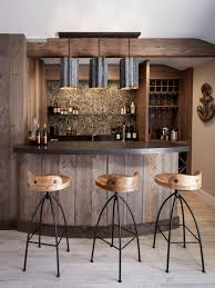 home bar designs. this is an example of a beach style galley wet bar in los angeles with dark home designs