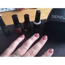 sensationail gel nail polish reviews in