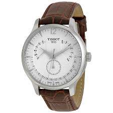 tissot tradition silver dial stainless steel case mens watch zoom tissot tissot tradition silver dial stainless steel case mens watch t0636371603700