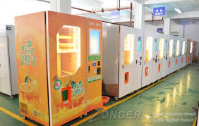 Orange Juice Vending Machine Gorgeous Why Choose Fresh Fruit Juice Vending Machine