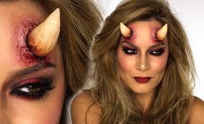 devil costume eye makeup y devil makeup tutorial shonagh scott showme