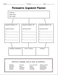 best argument images school teaching ideas and  persuasive argument planner · argumentative writingwriting a persuasive essaypersuasive
