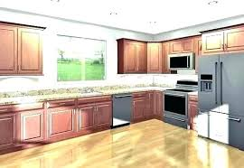 cost to install kitchen cabinet how much does it new cabinets s per foot l5 install
