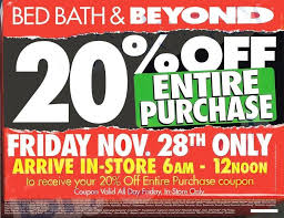 Save more with black friday coupons and printable black friday coupons. Bed Bath And Beyond Black Friday 2014 Ads And Sales Black Friday Ads Black Friday Stores Black Friday
