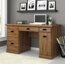 Better Homes And Gardens Computer Workstation Desk And Hutch  Within Home Computer  Desks (View