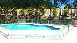 glass pool fencing by o frameless glass pool fencing