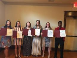 Junior Honorees Madison Dickerson, Abby... - Brunswick R-II School District  | Facebook