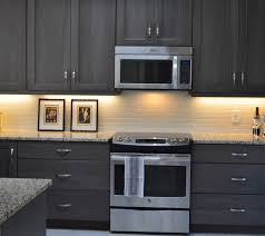 Grey Stained Hickory Cabinets Grey Kitchen Https Gray Gel Stain Cabinets
