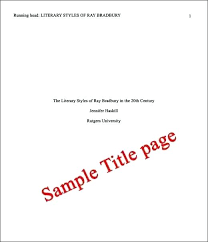 Apa Coverpage Format Cover Page Example Format 9 Examples Of Title Ideas Apa