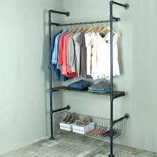 wall mount garment rack clothing hooks smart mounted inspirational folding clothes