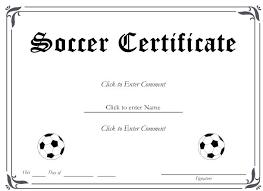 soccer awards templates award certificate template free soccer certificate template free