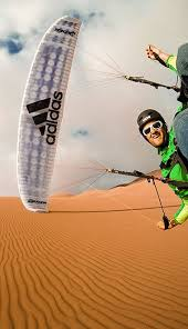 paragliding skydiving extreme sports