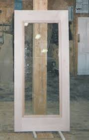 custom wood storm door double pane insulated glass