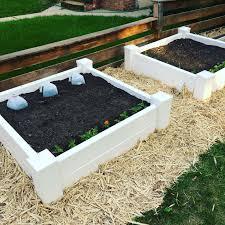 raised garden vinyl beds